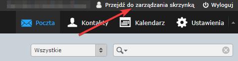 Webmail -> Ustawienia